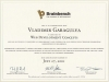 Web development concepts Brainbench certificate