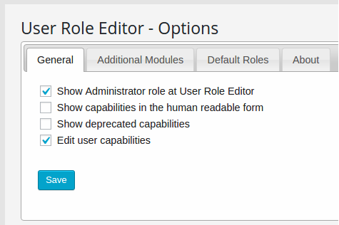 user-role-editor-settings