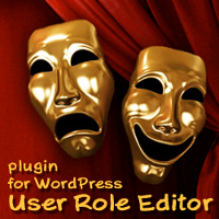 User Role Editor - plugin for WordPress