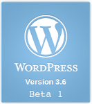 WordPress Beta 1 of version 3.6