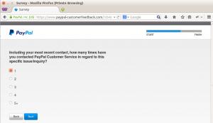 PayPal customer feedback step 7