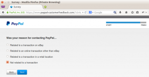 PayPal customer feedback step 9