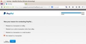 PayPal customer feedback step 9