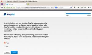 PayPal customer feedback step 10